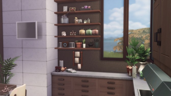 Cozy Modern Kitchen at GravySims image 1981 670x377 Sims 4 Updates