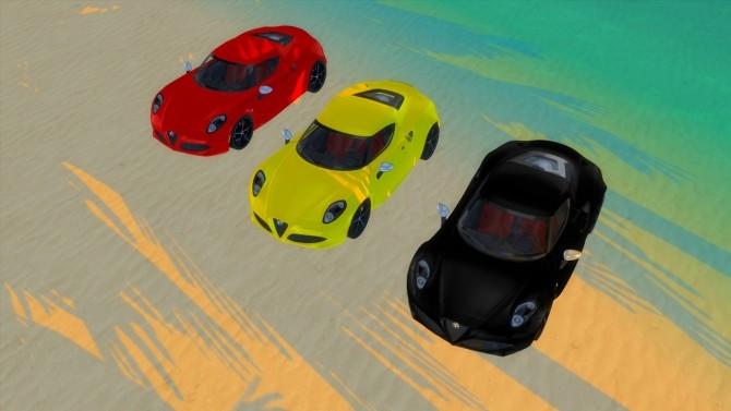 Alfa Romeo 4C U.S. Specs at LorySims image 1985 670x377 Sims 4 Updates