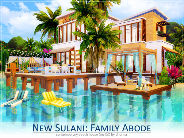 New Sulani Family Abode by Lhonna at TS4 Celebrities Corner