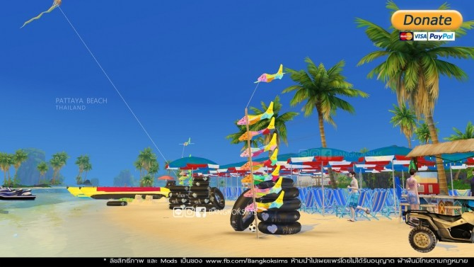 Pattaya Beach (P) at BangkokSims image 202 670x377 Sims 4 Updates