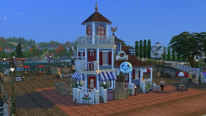 Sims 4 The Rusty Lobster restaurant CC Free by kiimy 2 Sweet at Mod The Sims