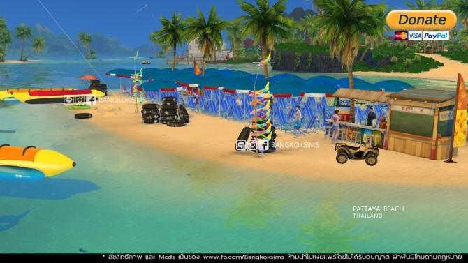 Pattaya Beach (P) at BangkokSims image 204 670x377 Sims 4 Updates