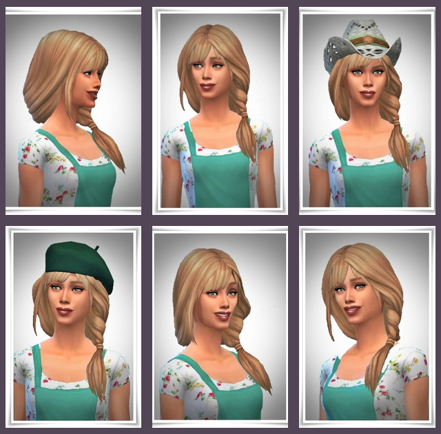 Topsy Tail with Bangs at Birksches Sims Blog image 21110 Sims 4 Updates