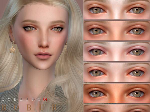 Sims 4 Eyelids 04 by Bobur3 at TSR