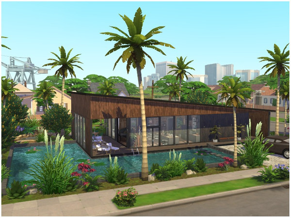 SUMMER BREEZE house by lotsbymanal at TSR image 2125 Sims 4 Updates