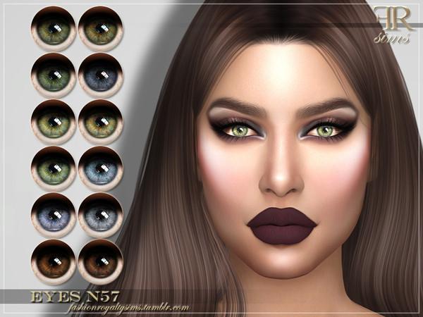 FRS Eyes N57 by FashionRoyaltySims at TSR image 2137 Sims 4 Updates