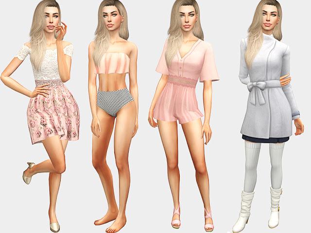 Sims 4 Valeria Lew at MSQ Sims