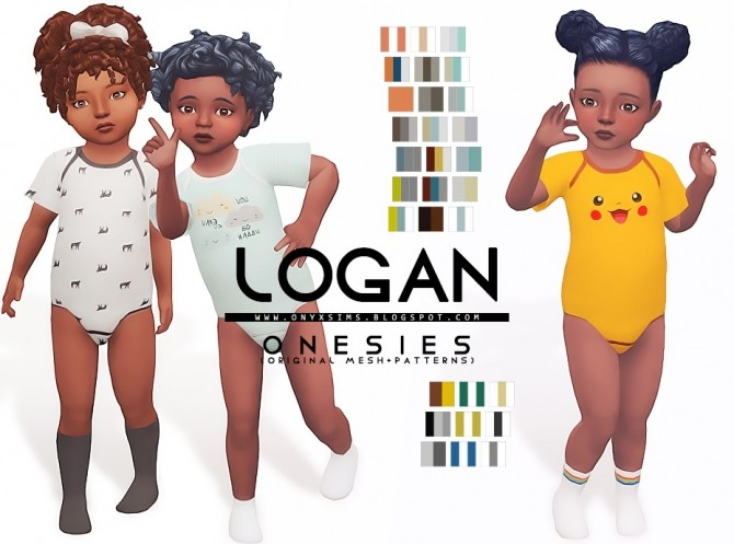 Logan Onesies at Onyx Sims image 2153 670x497 Sims 4 Updates