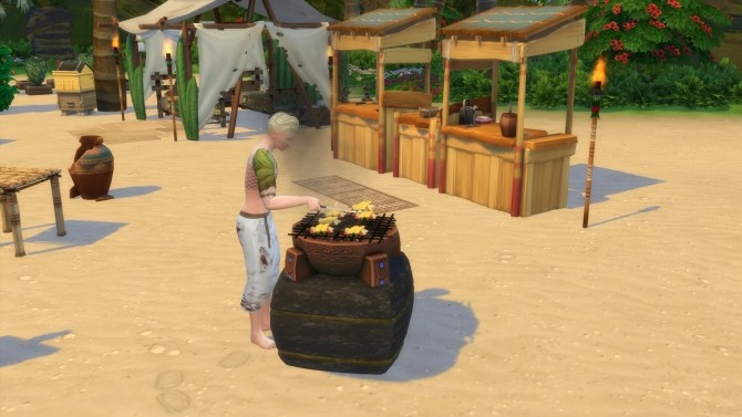 Ancestral BBQ of Sulani by Serinion at Mod The Sims image 2174 670x377 Sims 4 Updates