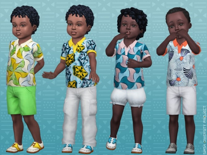 Child Toddler African Summer set at Sims 4 Diversity Project image 2195 670x503 Sims 4 Updates