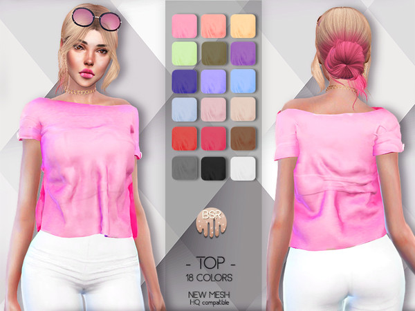 TOP BD78 by busra tr at TSR image 2229 Sims 4 Updates