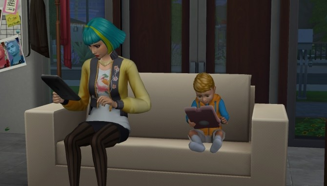 Keep Tablets In Inventory by FerrisWheelable at Mod The Sims image 23111 670x381 Sims 4 Updates