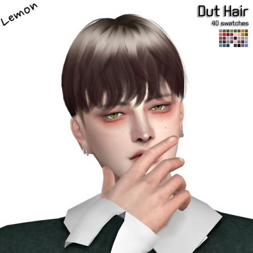 Sims 4 Dut Hair at Lemon Sims 4