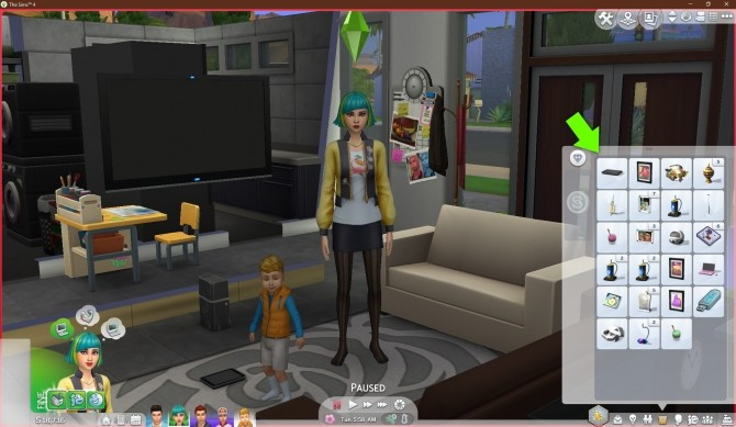 Keep Tablets In Inventory by FerrisWheelable at Mod The Sims image 2325 670x389 Sims 4 Updates
