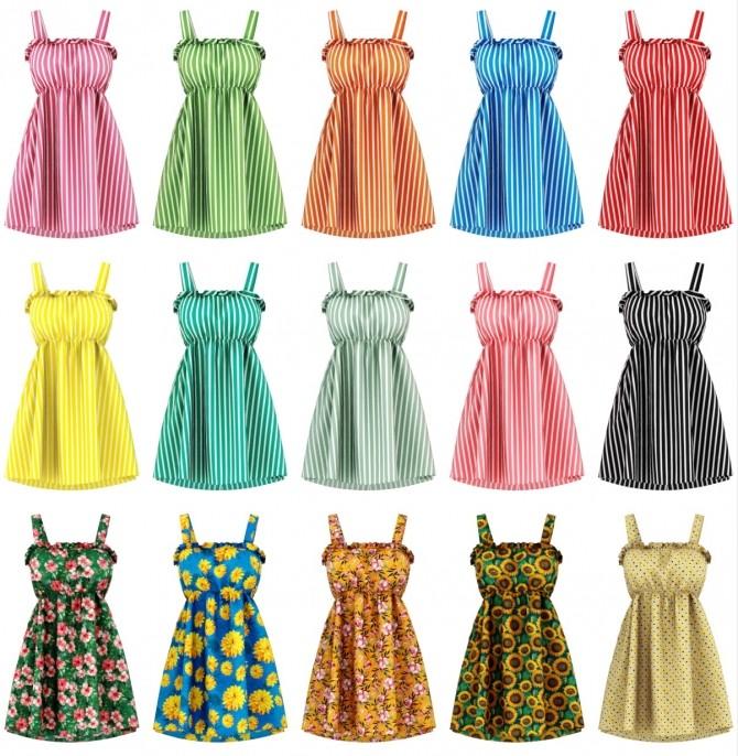 Brisa dress at Daisy Pixels image 2332 670x686 Sims 4 Updates