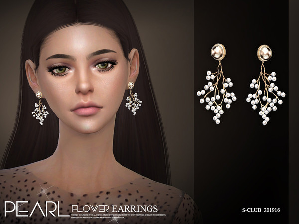 EARRINGS 201916 by S Club LL at TSR image 2335 Sims 4 Updates