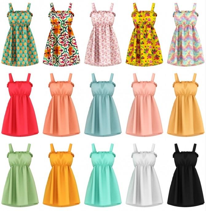 Brisa dress at Daisy Pixels image 2342 670x686 Sims 4 Updates