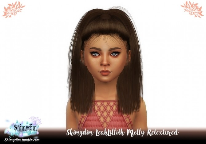 LeahLillith Melly Hair Retexture Ombre + Child Naturals + Unnaturals at Shimydim Sims image 235 670x468 Sims 4 Updates