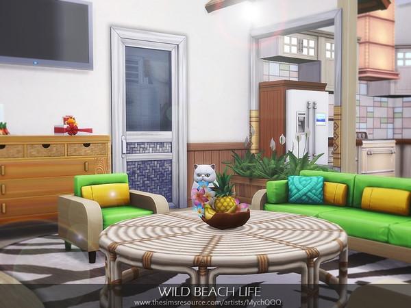 Sims 4 Wild Beach Life by MychQQQ at TSR