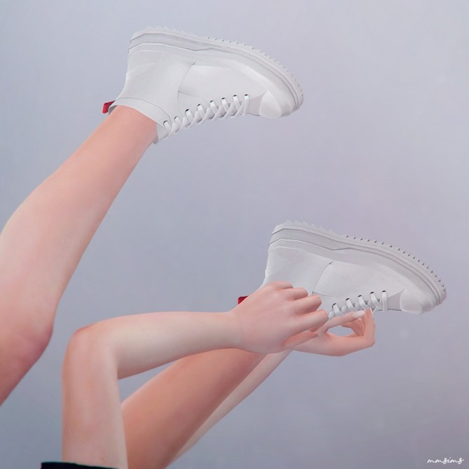 Shark tooth Sneakers at MMSIMS image 2584 670x670 Sims 4 Updates