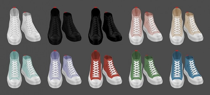 Shark tooth Sneakers at MMSIMS image 2594 670x305 Sims 4 Updates