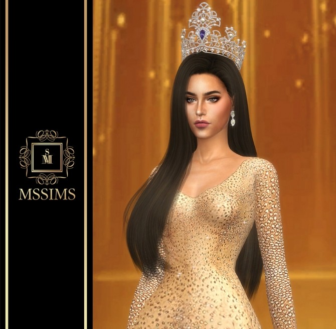 Sims 4 MISS TIFFANY'S UNIVERSE 2019 CROWN (P) at MSSIMS