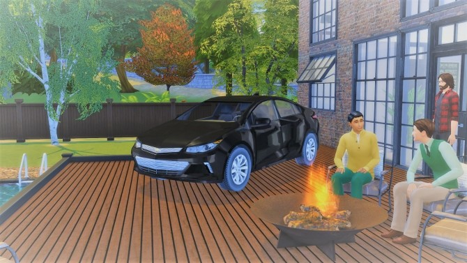 Chevrolet Volt at LorySims image 2672 670x377 Sims 4 Updates