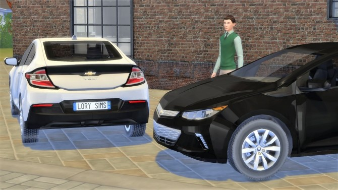 Chevrolet Volt at LorySims image 2718 670x377 Sims 4 Updates