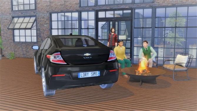 Sims 4 Chevrolet Volt at LorySims