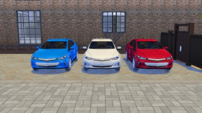 Chevrolet Volt at LorySims image 2732 670x377 Sims 4 Updates