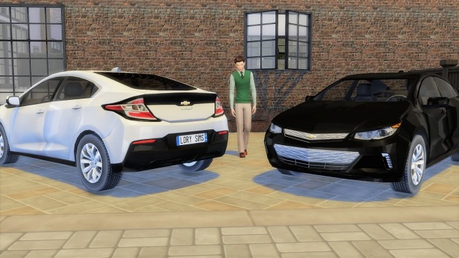 Chevrolet Volt at LorySims image 2742 670x377 Sims 4 Updates