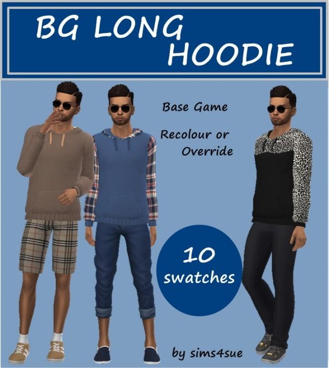 BASE GAME LONG HOODIES M at Sims4Sue image 28210 670x750 Sims 4 Updates