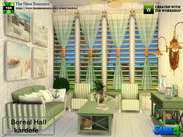 Boreal Hall by kardofe at TSR image 2825 Sims 4 Updates