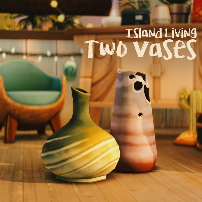 Sims 4 TWO VASES at Picture Amoebae