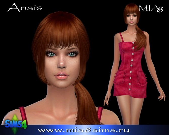 Anais at Mia8Sims image 2873 670x536 Sims 4 Updates