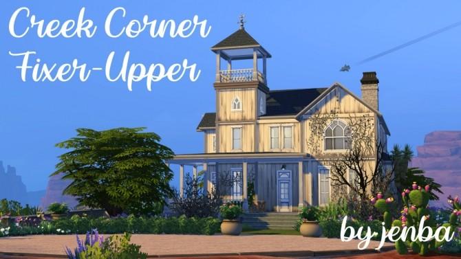 Creek Corner Fixer Upper at Jenba Sims image 2882 670x377 Sims 4 Updates