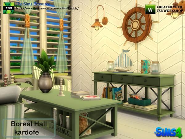 Boreal Hall by kardofe at TSR image 2924 Sims 4 Updates