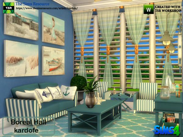 Boreal Hall by kardofe at TSR image 3025 Sims 4 Updates