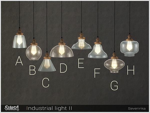 Sims 4 Industrial light II by Severinka at TSR