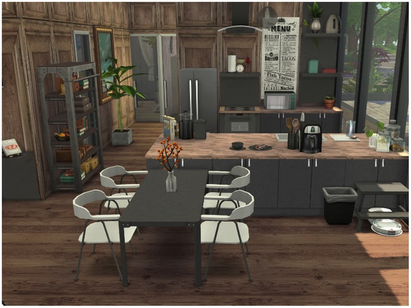 SUMMER BREEZE house by lotsbymanal at TSR image 3100 Sims 4 Updates
