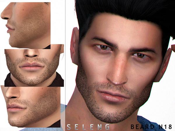 Sims 4 Beard N18 by Seleng at TSR
