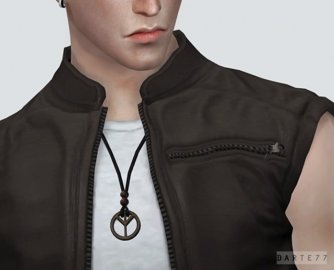 Sims 4 P&L Necklace at Darte77