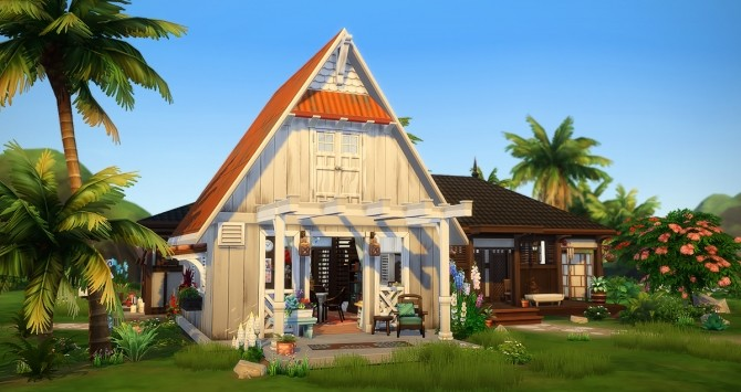 Sims 4 L'Accalmie house at Simsontherope