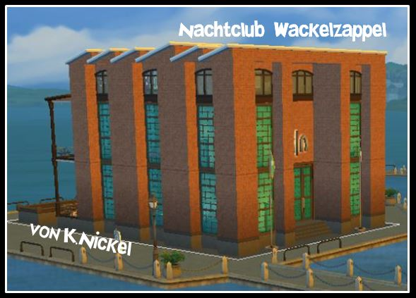 Sims 4 Wackelzappel nightclub by K.Nickel at Sims Marktplatz