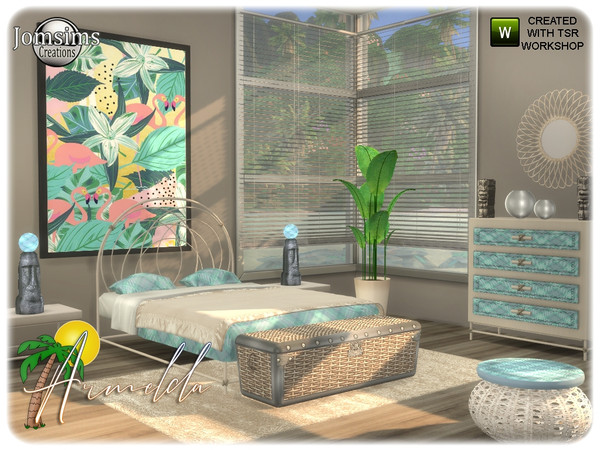 Armelda bedroom by jomsims at TSR image 3319 Sims 4 Updates