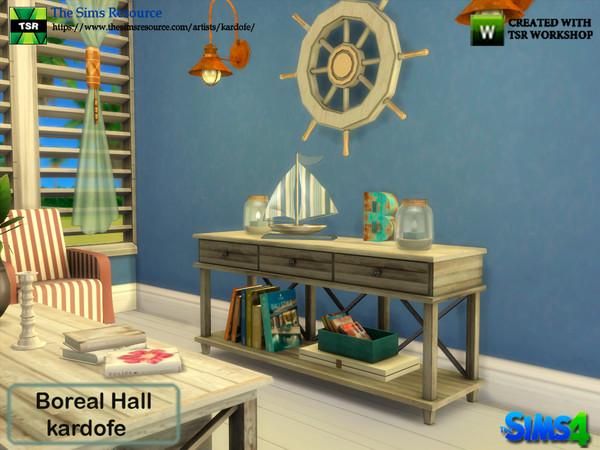 Sims 4 Boreal Hall by kardofe at TSR