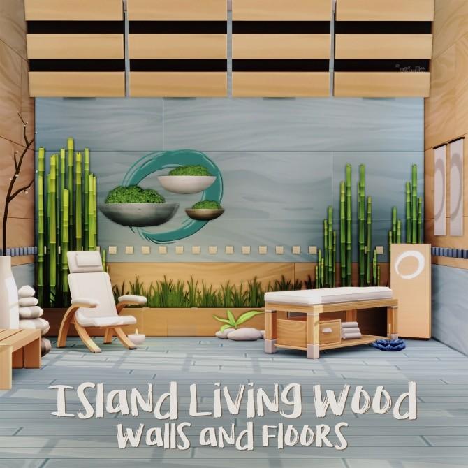 ISLAND LIVING WOOD WALLS & FLOORS at Picture Amoebae image 3371 670x670 Sims 4 Updates