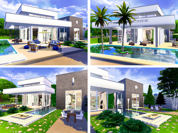 Conway contemporary house by Rirann at TSR image 34 Sims 4 Updates