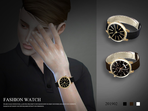 Sims 4 Watch 201902 by S Club LL at TSR