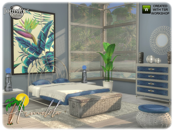 Armelda bedroom by jomsims at TSR image 3419 Sims 4 Updates